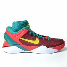 NIKE ZOOM KOBE VII SUPREME X 7 2012 YOTD RED GREEN GOLD XDR CHINA DS 488639-600