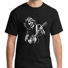 New FOO FIGHTERS T-shirt Dave Grohl T shirt Nirvana Rock Shirt Gibson Guitar