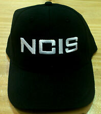 New Quality NCIS Embroidered Cotton Black Cap Party Gift Hat