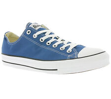 NEW Converse All Star Chuck Taylor OX Shoes Trainers Men's Blue SALE