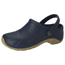 CLOGS Navy ZONE Anywear Injected Clog w/Backstrap
