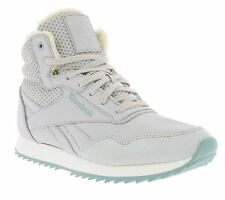 NEW Reebok Rock easy Ripple Knit Shoes Ladies High Top Trainers Grey V66551