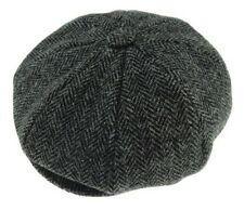 Harris Tweed Baker Boy Cap Classic BakerBoy Style Available 4 Tweeds Made In UK