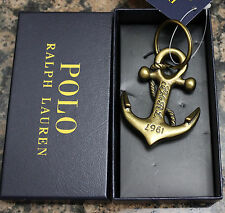Polo Ralph Lauren Men accessories Polished brass Anchor Key Fob