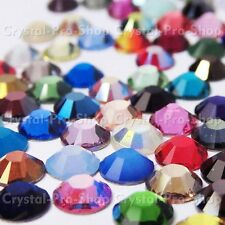 144 Genuine Swarovski Hotfix Iron On 16ss Rhinestone Crystal 4mm ss16 Various