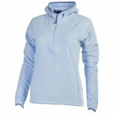 Berghaus Spectrum Women's Micro FL Hooded Fleece Half Zip Jumper Blue Running