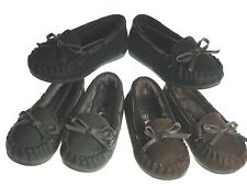 Baby Toddler New Slip on Moccasin Style Shoes Walking Comfy Winter Flats Sz 9-11