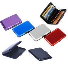 7colors Waterproof Business ID Credit Card Wallet Holder Aluminum Metal Case Box