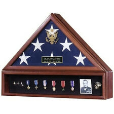 Flag and Medal Display Cases - High Quality Hand Made By Veterans