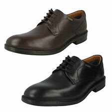 MENS CLARKS WATERPROOF LACE UP LEATHER CASUAL FORMAL WORK SHOES CHILVERWALK GTX