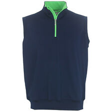 Carnoustie Golf Performance 1/4-Zip Vest, Brand NEW