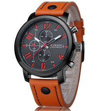 CURREN Fashion Mens Watch Sport Casual Analog Quartz Waterproof Wrist Watch_US