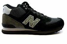 NEW BALANCE MLM574OC MLM574 MID Mn's (M) Black/Grey Suede/Mesh Mid Top Shoes