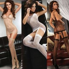 Ultra Sexy Bodystocking Catriona Crotchless Open Crotch Livco Corsetti