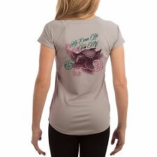 SAND.SALT.SURF.SUN. Women's Turtle Ocean Life UPF Performance T-shirt