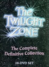 The Twilight Zone - The Complete Definitive Collection (DVD, 2006, 28-Disc Set)
