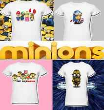 Despicable me minions t shirt one direction Ironman avengers batman xmas present