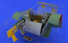 Eduard 648038 1:48 MiG-21SMT Interior for Eduard Aircraft (Photo-Etched & Resin)
