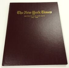 New York Mets History 1961-2000 NY Times Hardcover Book