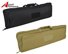 100CM/85CM Tactical Military Airsoft Paintball Dual Rifle Gun Carrying Case Bag