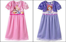DISNEY SOFIA THE FIRST or DISNEY PRINCESS NIGHTGOWN - SIZE 2T,3T or 4T - NWT!