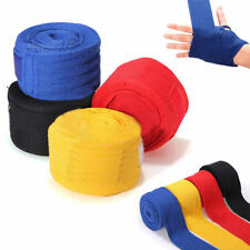BOXING HAND WRAPS BANDAGES INNER PUNCH BAG GLOVES WRIST PALM STRAPS COTTON