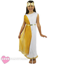 GIRLS ROMAN GODDESS COSTUME SCHOOL CURRICULUM HISTORICAL FANCY DRESS CHILDS TOGA