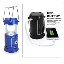 Super Bright Camping Lantern 6 LED Collapsible Portable Fishing Lamp Tent Light
