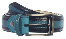 Gift_Men's Premium Handmade Genuine Leather Two Toned Belt_MULTI COLORS