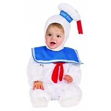 Stay Puft Marshmallow Man Costume Ghostbusters Halloween Fancy Dress