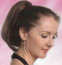 "10"" Long Straight Hair Ponytail Hairpiece on Claw Clip"