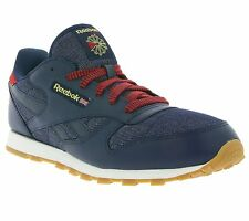 NEW Reebok Classic CL Leather DG Shoes Women's Sneakers Sneakers Blue AR2042