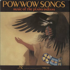 Various-World Music Pow Wow Songs: Music Of The ... USA vinyl LP  record