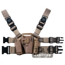 Tactical Serpa Sportster CQC Right Drop Leg Holster for Glock 17 19 22 23 31 32