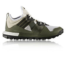 Adidas Response TR Mens Brown Green Cushioned Running Sports Shoes Trainers