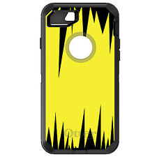 CUSTOM OtterBox Defender for iPhone 6 6S 7 PLUS Yellow Black Spikes