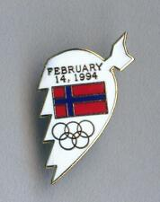 Rare Olympic Winter Games LILLEHAMMER 1994 pin badge