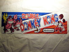 Double Donkey Kong Translight Marquee / Header
