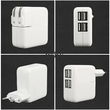 4 Ports USB Home Travel Wall AC Power Charger Adapter For Samsung iPhone KECP