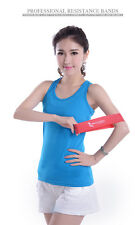 Tension Exercise Loop Sports Resistance Band Strength Weight Cross Train Unisex