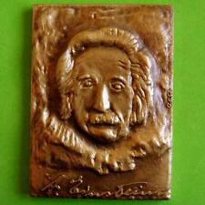 L@@k Physics Theoretical Physicist 1921 Nobel Prize Albert Einstein Bronze Medal