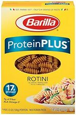 Barilla Protein Plus Rotini Pasta, 14.5 Ounce (Pack of 12)