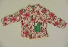 UNITED COLORS OF BENETTON GIRLS FLOWER SHIRT PINK