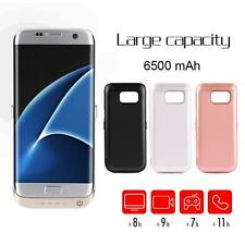 6500mAh High Capacity Backup Battery Power Bank Charger Case For Samsung S7