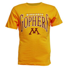 Minnesota Golden Gophers Adult All-Star Short Sleeve T-shirt - Gold