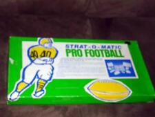 Strat-O-Matic - Deluxe PRO FOOTBALL Game - 1985 SeasonPlayer Cards Green Box Edt