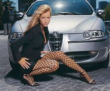 20 different photos sexy GIRL on ALFA ROMEO CAR FIAT printed on glossy paper