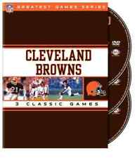 CLEVELAND BROWNS: NFL GREAT...-CLEVELAND BROWNS: NFL GREATEST GAMES SERI DVD NEW