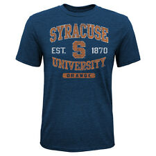 Syracuse Orange Youth Heritage Distressed T-Shirt - Navy