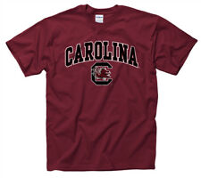 South Carolina Gamecocks Arch and Logo Short Sleeve T-shirt - Cardinal